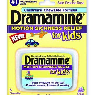 Tabletas para prevenir el mareo por movimiento en niños